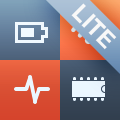 System Status Lite - battery charge, network information & performance monitor
